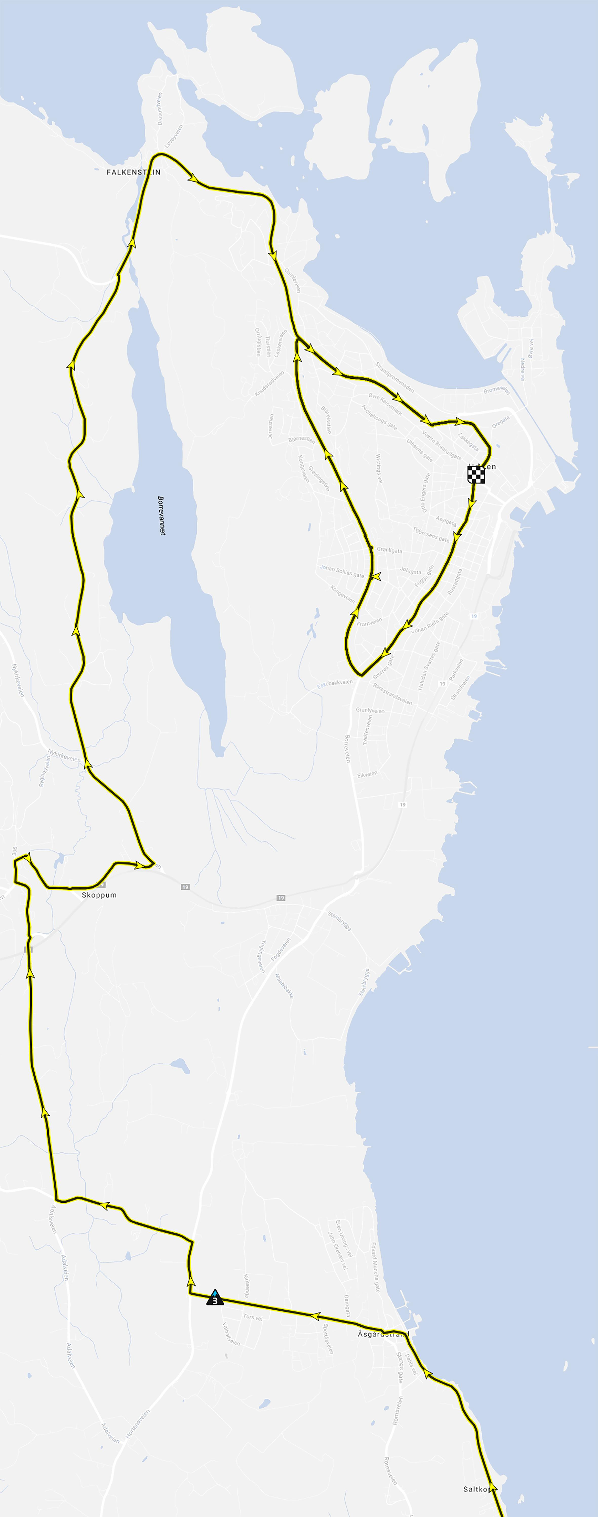innspurten 15 kart Byfest 16. mai: Barnehagetog og Tour of Norway   Horten kommune innspurten 15 kart
