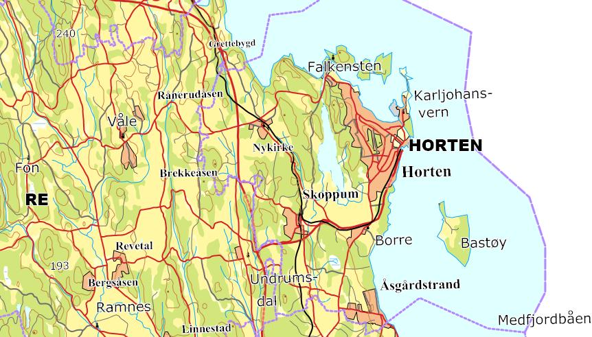 horten kart Kart   Horten kommune horten kart